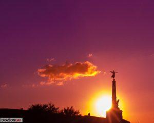 Aberystwyth Memorial Sunset 300x241 - Our Work