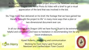 FB4 Hywel Roberts CH NLTC scr grab 300x169 - Our Work