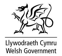 Welsh Gov Logo BW - Home
