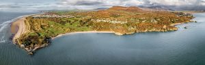 Portmadog Coast Pano realistic for webgall 300x95 - Our Work