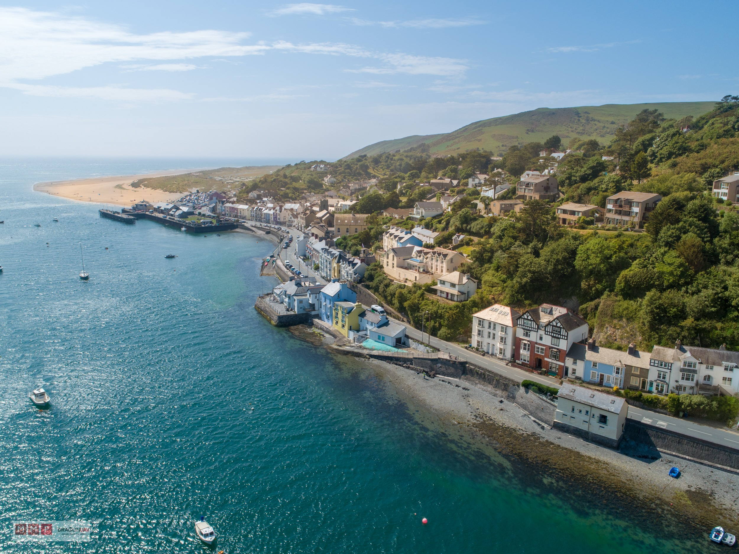 Aberdovey Dragon UAV May 2018 3 - Aerial shots sell property fast !