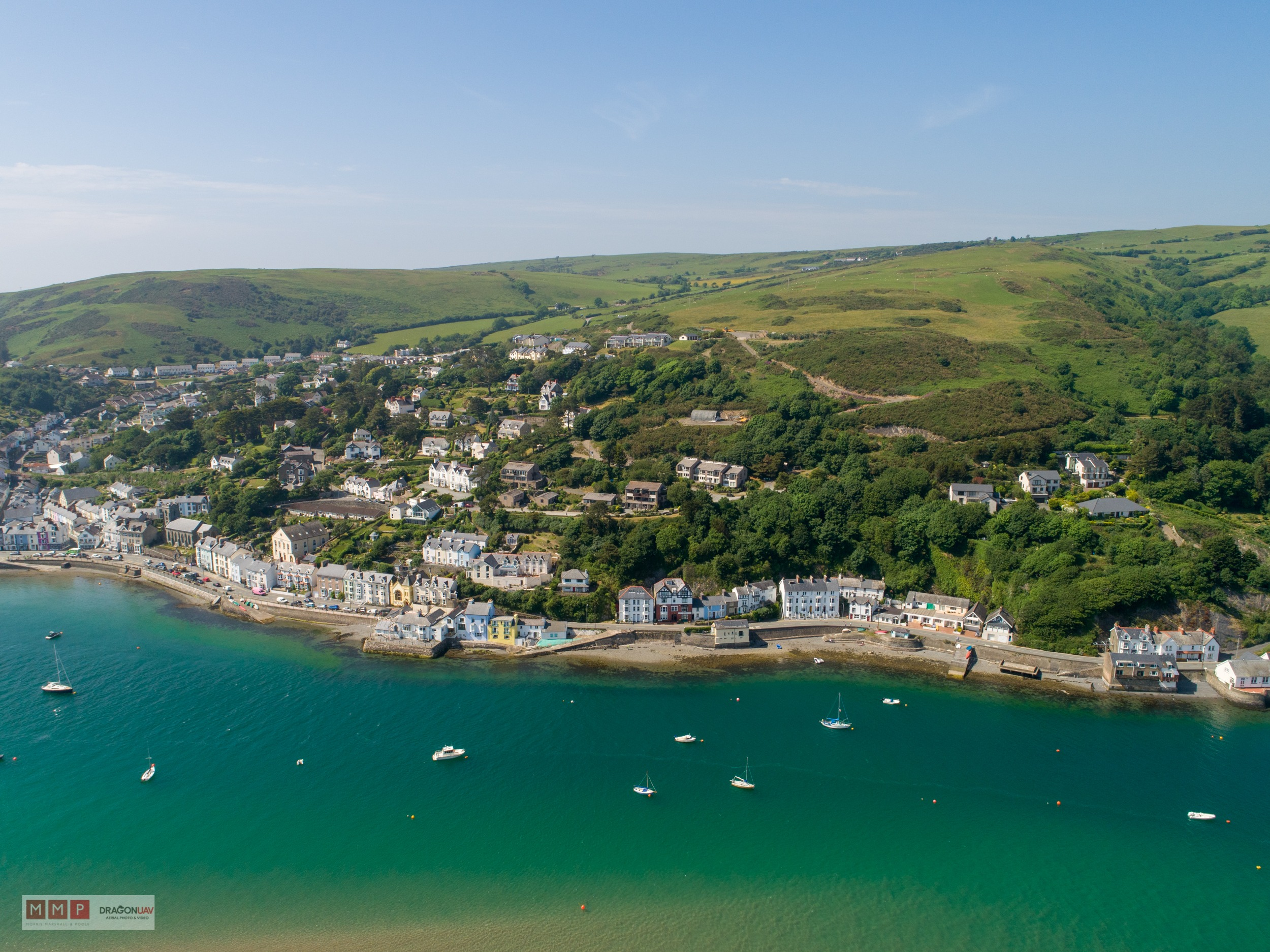 Aberdovey Dragon UAV May 2018 13 - Aerial shots sell property fast !
